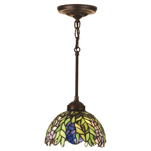 Tiffany Honey Locust 1 Light Mini Pendant
