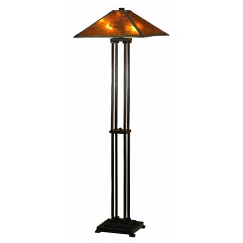 Meyda Tiffany Van Erp Mica Floor Lamp