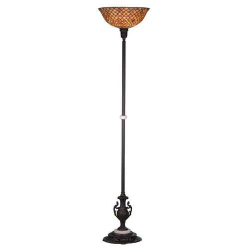 Meyda Tiffany Tiffany Fishscale Torchiere Floor Lamp
