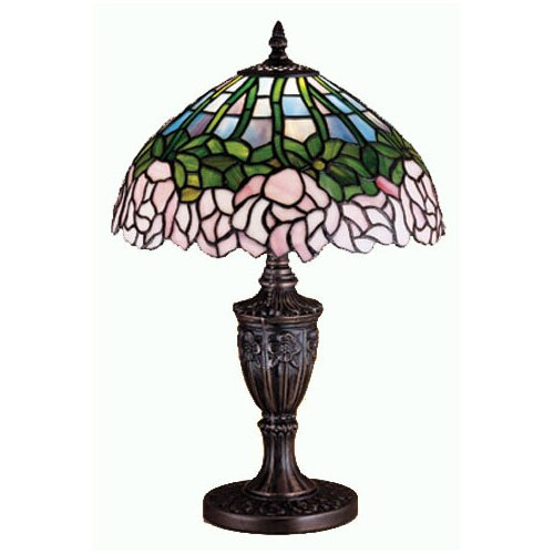 Meyda Tiffany Cabbage Rose Accent Table Lamp