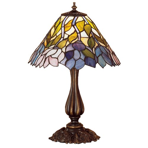 Meyda Tiffany Wisteria Tiffany Accent Table Lamp
