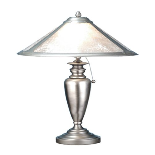 "Meyda Tiffany Van Erp 23"" H Mica Table Lamp"