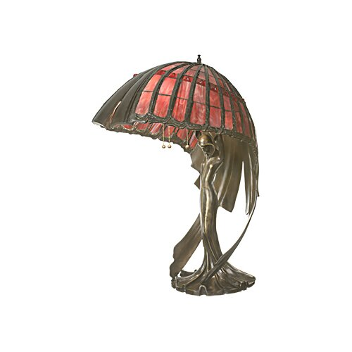 Meyda Tiffany Flying Lady Table Lamp