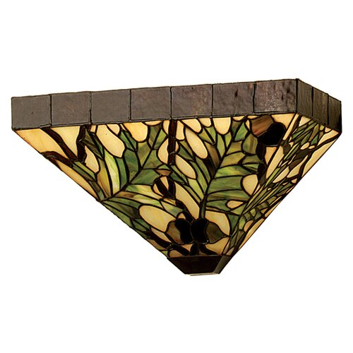 Meyda Tiffany Acorn 2 Light Wall Sconce