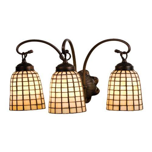 Meyda Tiffany Terra Bone 3 Light Vanity Light