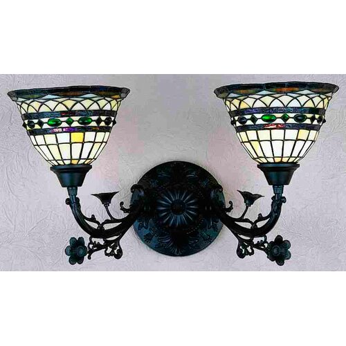 Meyda Tiffany Tiffany Roman 2 Light Wall Sconce
