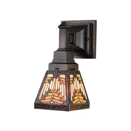 Meyda Tiffany Nuevo Mission 1 Light Wall Sconce