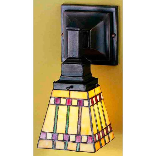 Meyda Tiffany Prairie Corn 1 Light Wall Sconce