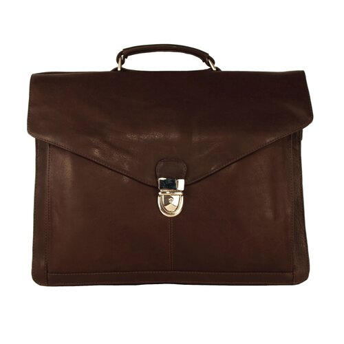 Heritage Chairman Leather Laptop Briefcase