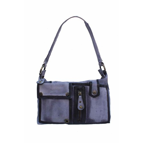 Latico Leathers Brushstroke Jordan Small Shoulder Bag