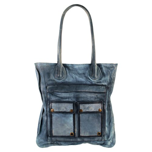 Brushstroke Gail Flat Tote Bag