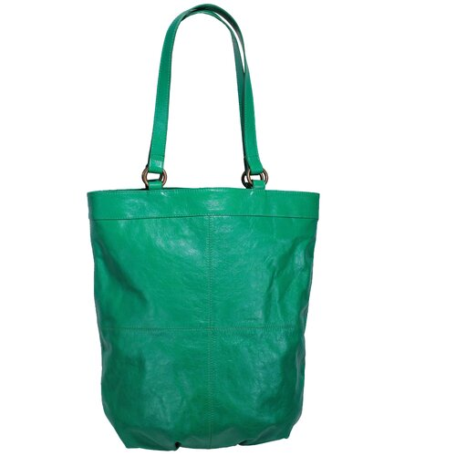 Latico Leathers Dorothy Mimi North / South City Flapper Tote Bag