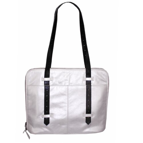 Latico Leathers Robbie Block Slim Porter Tote Bag