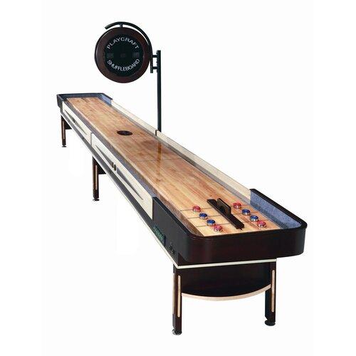 Playcraft Telluride Shuffleboard in Espresso