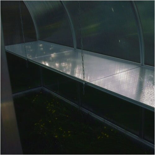 Hoklartherm Riga III Greenhouse Bottom Shelf