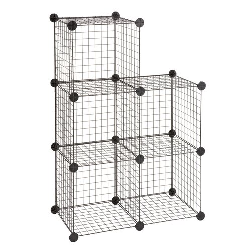 Safco Wire 5 Shelf Shelving Unit