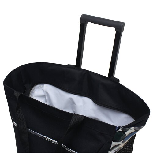 U.S. Traveler Rolling Shopping Tote