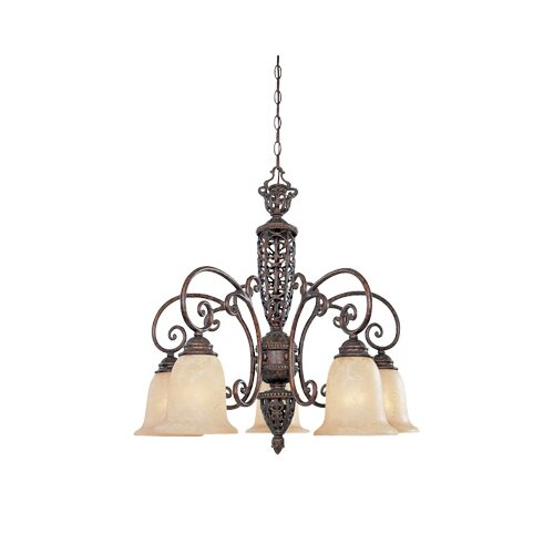Designers Fountain Amherst 5 Light Chandelier
