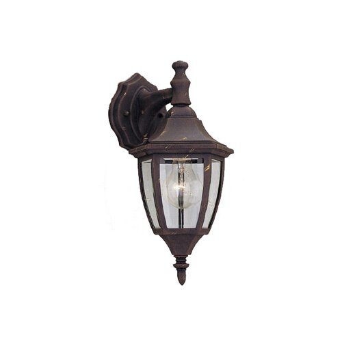 Designers Fountain Budget Cast Aluminum Down Light Wall Lantern