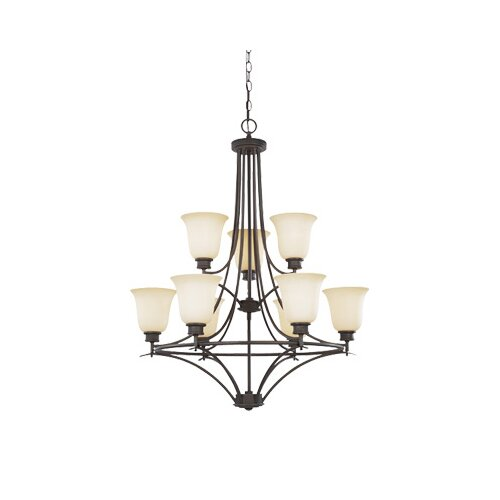 Montego 9 Light Chandelier