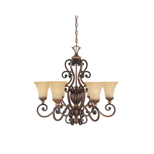 Designers Fountain Montreaux 6 Light Chandelier
