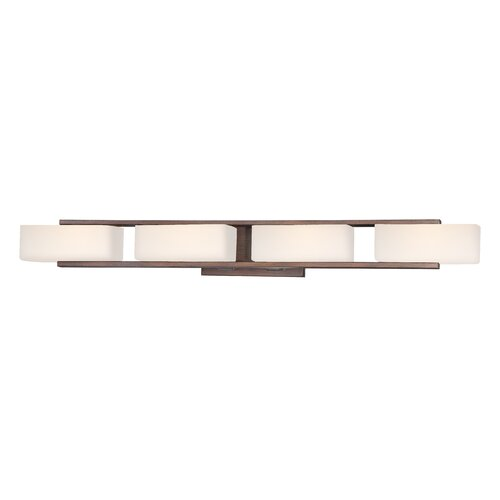 Designers Fountain Facet 4 Light Bath Vanity Light