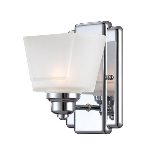 Designers Fountain Metropolis 1 Light Wall Sconce