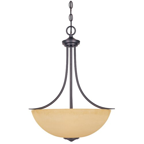 Designers Fountain Madison 3 Light Inverted Pendant
