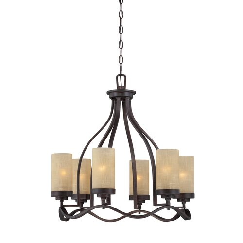 Designers Fountain Castello 6 Light Chandelier
