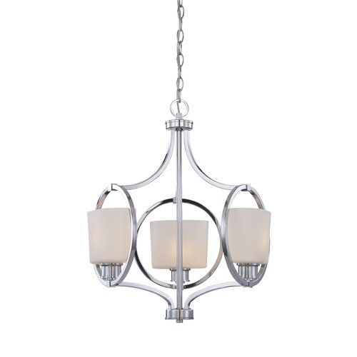 Designers Fountain Mirage 3 Light Chandelier