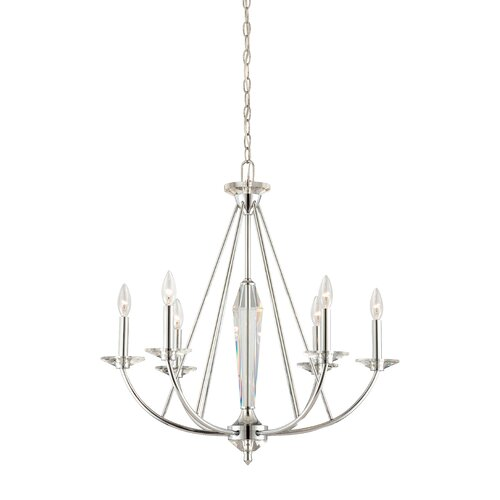 Palatial 6 Light Chandelier