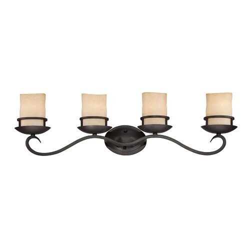 Designers Fountain Lauderhill 4 Light Bath Vanity Light