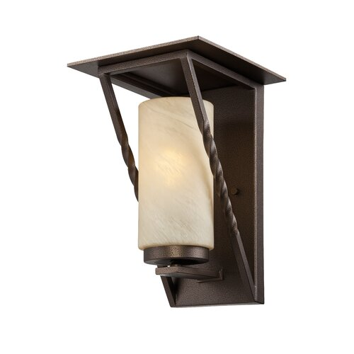 Designers Fountain Parkview 1 Light Outdoor Wall Lantern