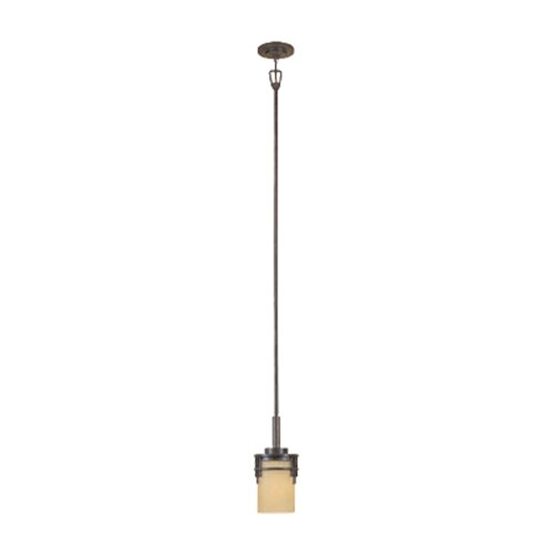 Designers Fountain Mission Ridge 1 Light Mini Pendant