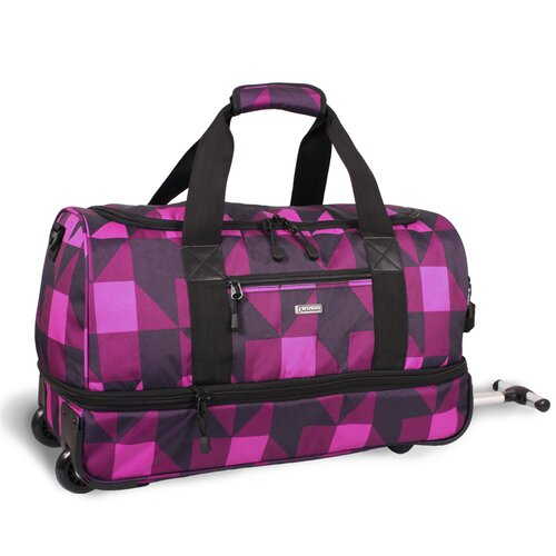 "J World 22"" Stadium 2-Wheeled Expandable Carry-On  Duffel"