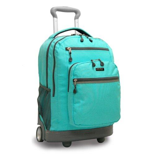 Sundance II Laptop Rolling Backpack