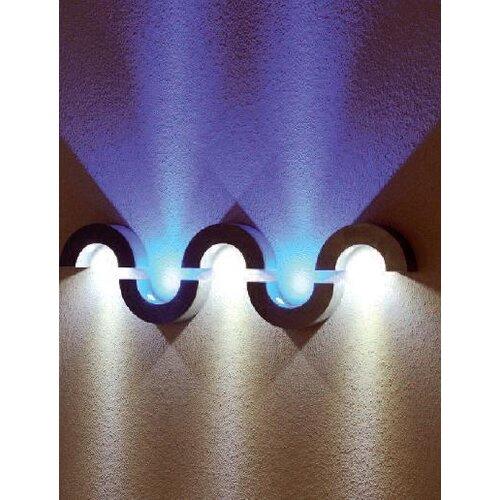 slv half pipe 3 light flush wall light reviews wayfair uk. Black Bedroom Furniture Sets. Home Design Ideas