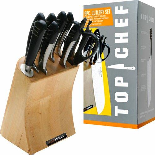 Top Chef 9 Piece Cutlery Block Set