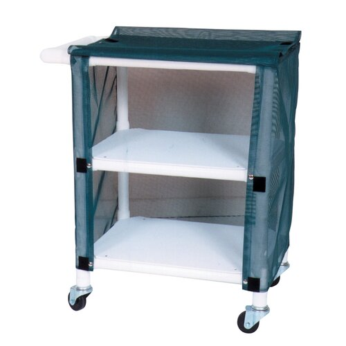 MJM International Mini Linen Cart with Cover and Optional Accessory