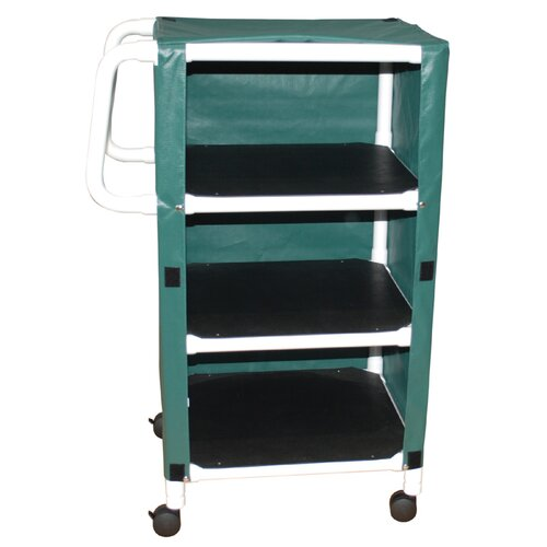 MJM International Linen Cart with Cover and Optional Accessory Bags