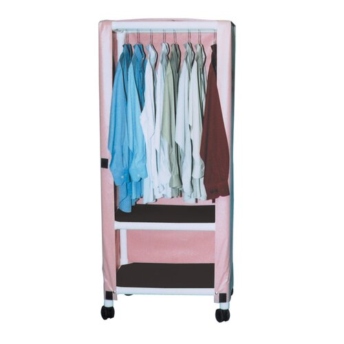 MJM International Hanging Linen Cart with Cover and Optional Accessory
