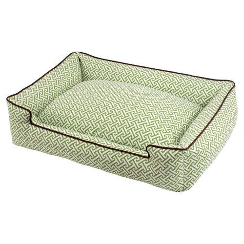 Jax & Bones Hera Grey Everyday Lounge Bolster Dog Bed