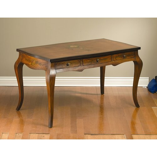 AA Importing 3 Drawer Writing Desk