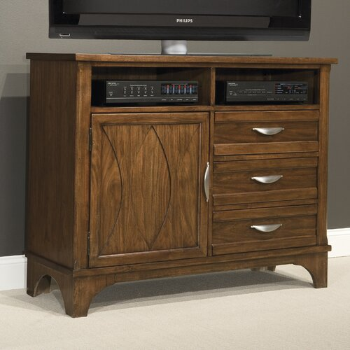kathy ireland Home by Vaughan Radiance 3 Drawer Media Chest