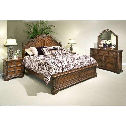 kathy ireland Home by Vaughan Romantic Dreams 3 Drawer Nightstand