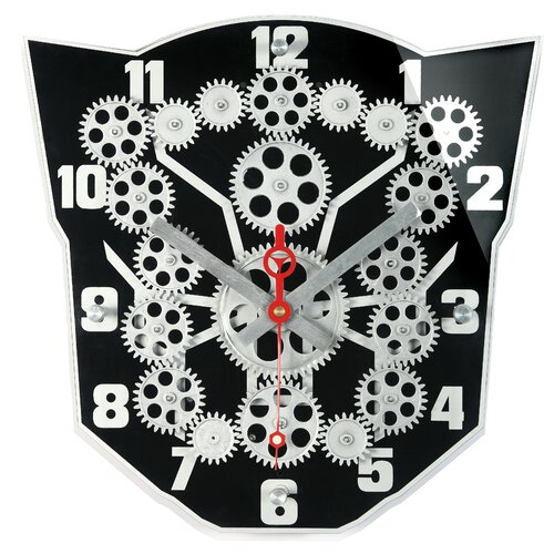 Maples Clock Moving Gear Wall Clock