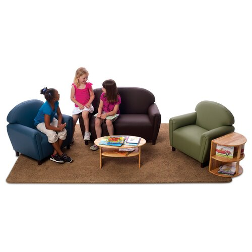 "Brand New World ""Just Like Home"" Enviro-Child Upholstery Chair (Toddler, Preschool, School Age)"