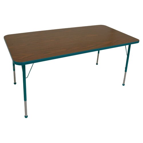"Mahar 72"" x 30"" Rectangle Classroom Table"