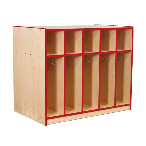 Mahar Double-Sided Locker with Top Cubbies