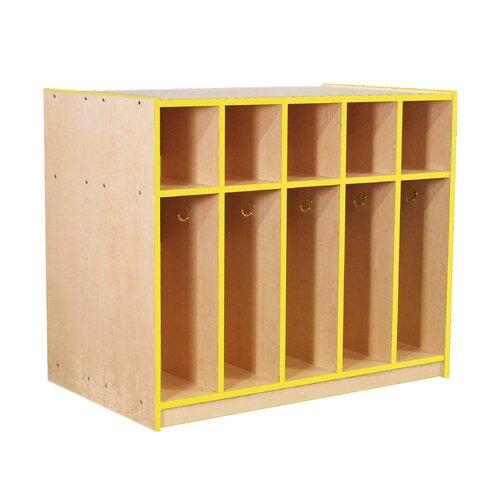 Mahar 5-Section Double-Sided Locker
